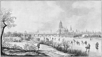 Schon Goethe schätzte das Eislaufen
